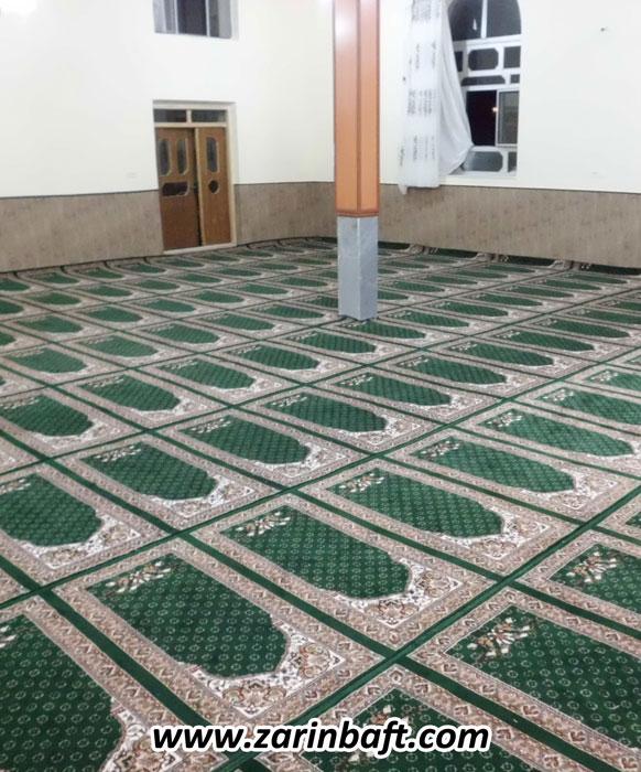سجاده فرش  مسجد محمد رسول الله روستای دربند ارومیه