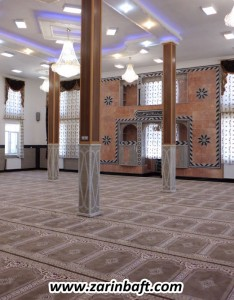 سجاده فرش مسجد امام محمدغزالی پاوه