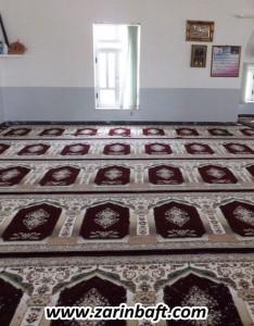 سجاده فرش مسجد حاج لطیف آرخ بزرگ(گرگان)