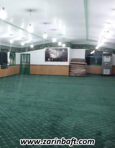 سجاده فرش  حسینیه روستای آتنی ساری