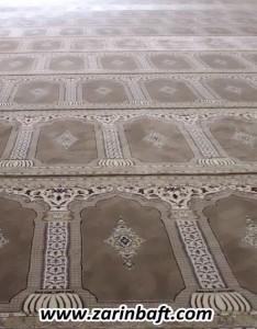 سجاده فرش مسجد امام رضا پالایشگاه نفت اصفهان
