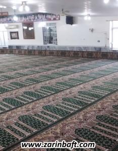 سجاده فرش مسجد جامع روستای مهدیرجه بهشهر