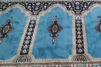 حفاظت از فرش های سجاده فرش در حسینیه ها و مساجد و نمازخانه ها: